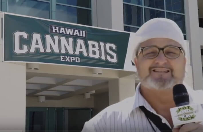 Smooch at the Hawaii Cannabis Expo